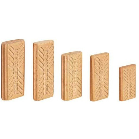Tenons Dominos FESTOOL 10 x 22 x 50/510 BU - Boîte de 510 pièces - 493300