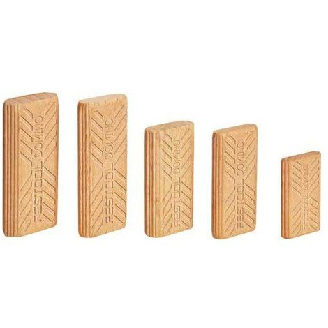 Tenons Dominos FESTOOL 6 x 40 mm - Boîte de 1140 pièces - 493297