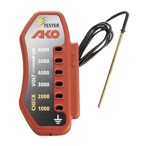 Tensiómetro AKO Comprobador de Corriente para Cercados. Comprobador hasta 6000V
