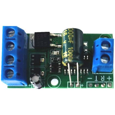 Tension Modulo convertidor, 0 ~ 5V a 0 ~ 10V / 12V ~ 0/0 ~ 24V Amplificador de tension