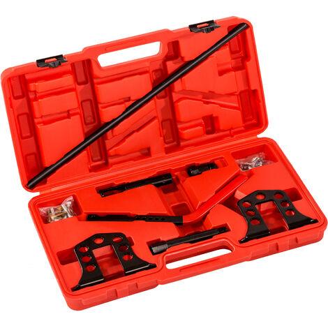 Tensor de muelles de válvula universal para coche - tensor genérico de muelles de coche, tensor de resortes de válvula para automóviles, kit de herramientas de taller para tensar muelles - negro