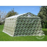 Tente Abri Voiture Garage Pro 33x6x24m Pvc Camouflage