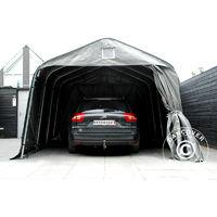 Tente Abri Voiture Garage Pro 36x48x268m Pe Gris