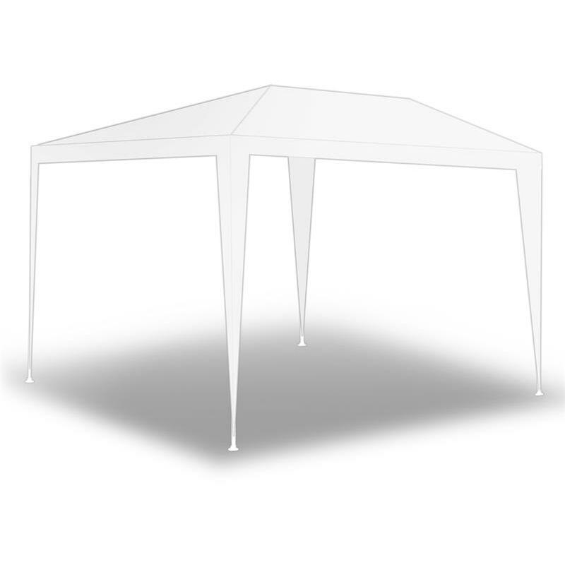 Tente de fête de pavillon Tente de jardin Pavillon de jardin Murs latéraux Weiß / 300x300x240cm ohne Wände