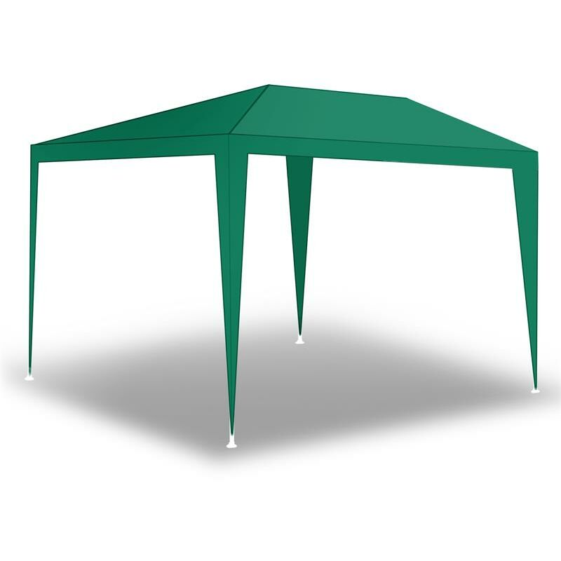Tente de fête de pavillon Tente de jardin Pavillon de jardin Murs latéraux Grün / 300x300x240cm ohne Wände