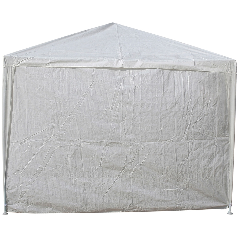 Tente De Jardin Pergola 3X9M Massilia Toile Blanche Barnum Tonnelle ...