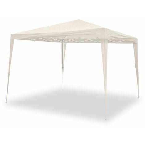 Tente de jardin pliante Wasabi 3x3m. Tente de plage, terrasse. Resistant à l'eau