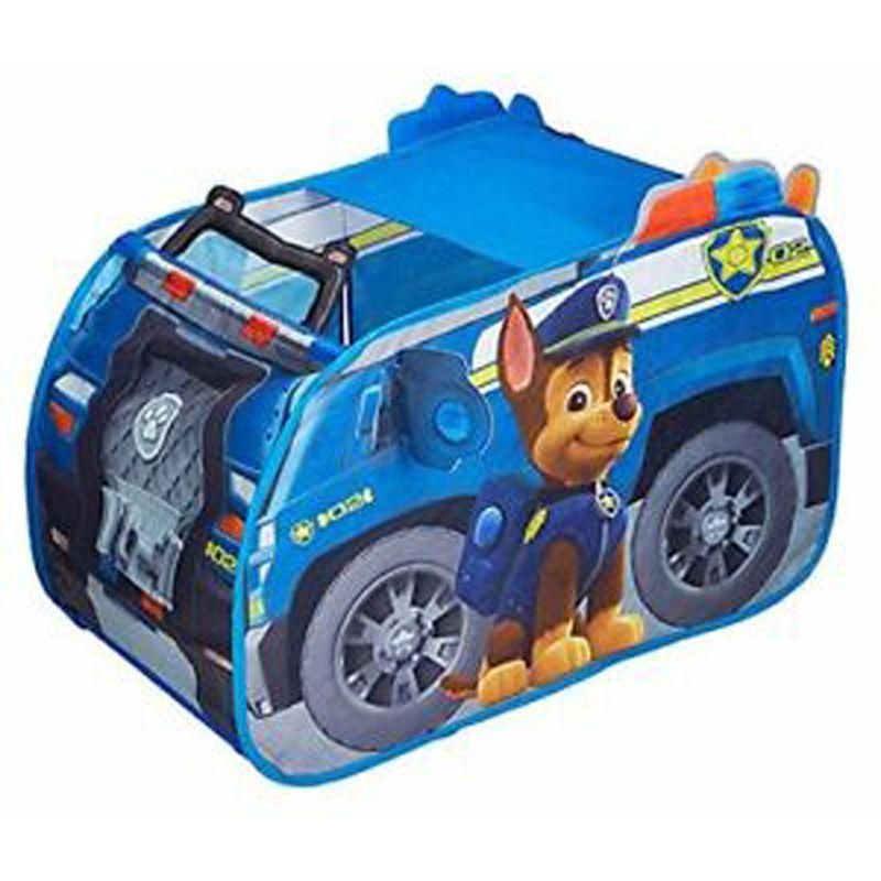 Tente de jeu en forme de voiture La Pat Patrouille Chase - Dim : 100 x 70 x 70 cm -PEGANE-