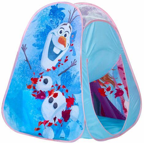 Tente de jeu enfant design Reine des neiges - Dim : L.75 x P.75 x H.90 cm -PEGANE-