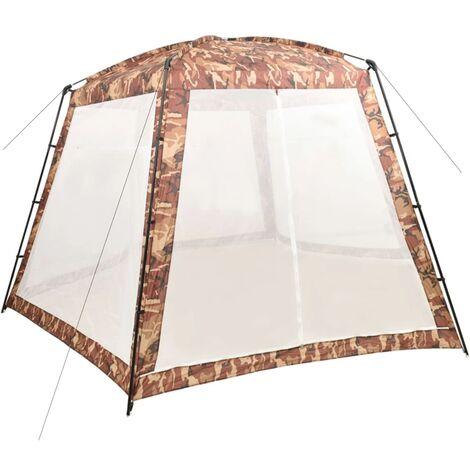 Tente de piscine Tissu 500x433x250 cm Camouflage