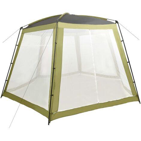 Tente de piscine Tissu 500x433x250 cm Vert