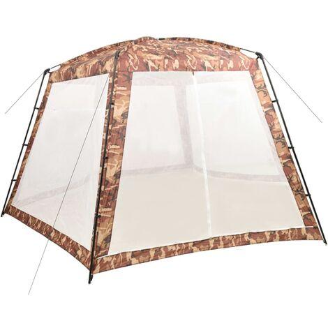 Tente de piscine Tissu 590x520x250 cm Camouflage