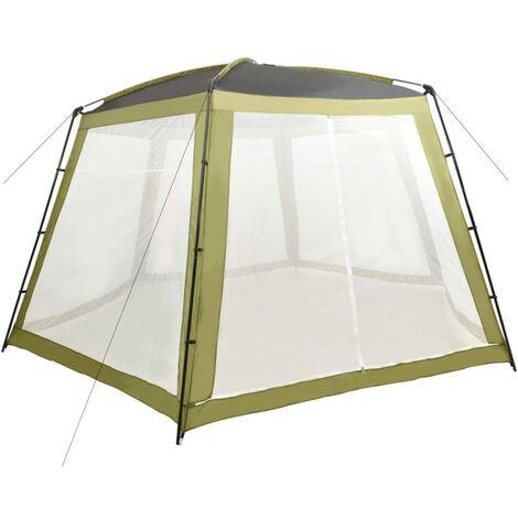 Tente de piscine Tissu 590x520x250 cm Vert