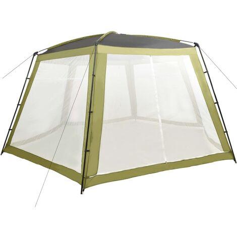 Tente de piscine Tissu 660x580x250 cm Vert