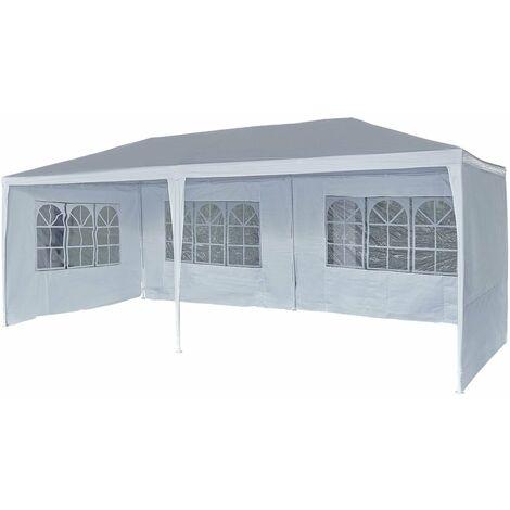 """main image of """"Tente de réception """"Carolina 6"""" - 5.7 x 2.85 x 2.55 m - Blanc"""""""