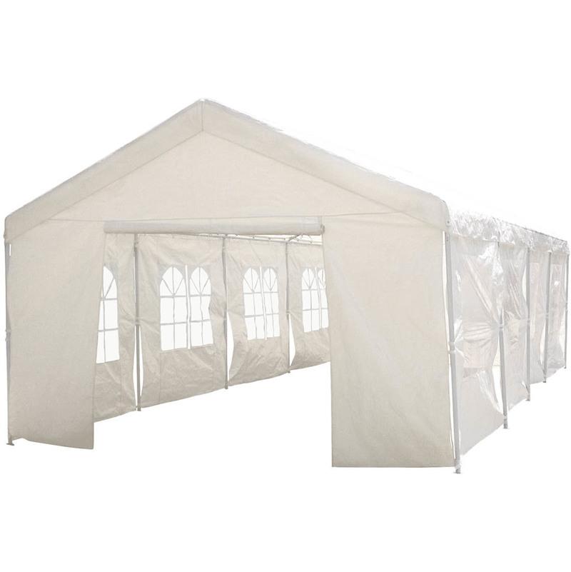 Habitat Et Jardin - Tente de réception 'Celia' en polyéthylène - 50m² - 5 x 10 x 2.9 m