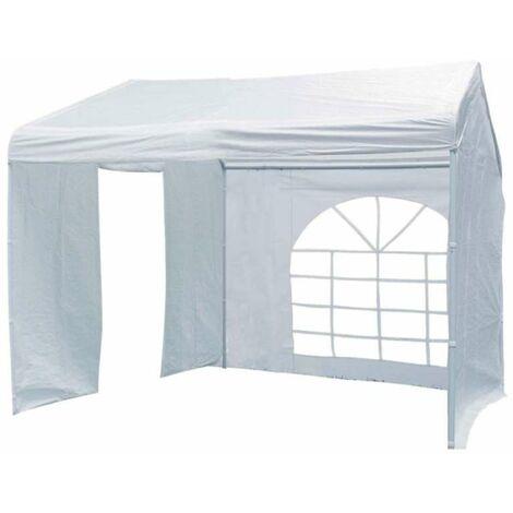 Tente de réception Luxe blanche avec côtés 3 x 3 m