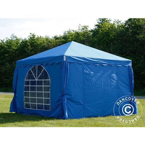 Tente de réception UNICO 3x3m, Bleu