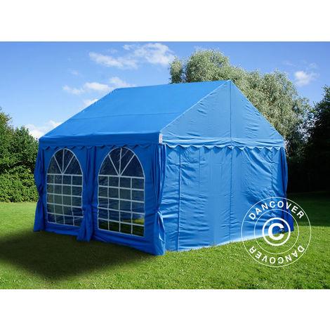 Tente de réception UNICO 4x4m, Bleu