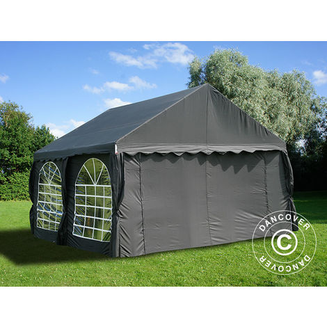 Tente de réception UNICO 4x4m, Noir
