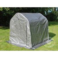 Tente de stockage Tente Abri PRO 2x2x2m PE, Gris