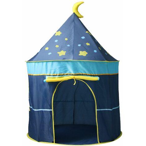 Tente Jeux Enfant Activité Chateau Jouet BLEU