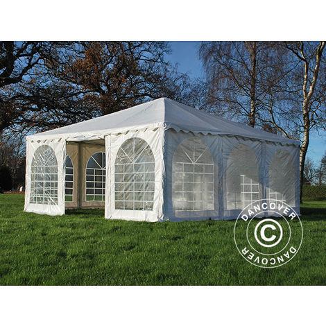 Tente Pagode Exclusive 6x6m PVC, Blanc