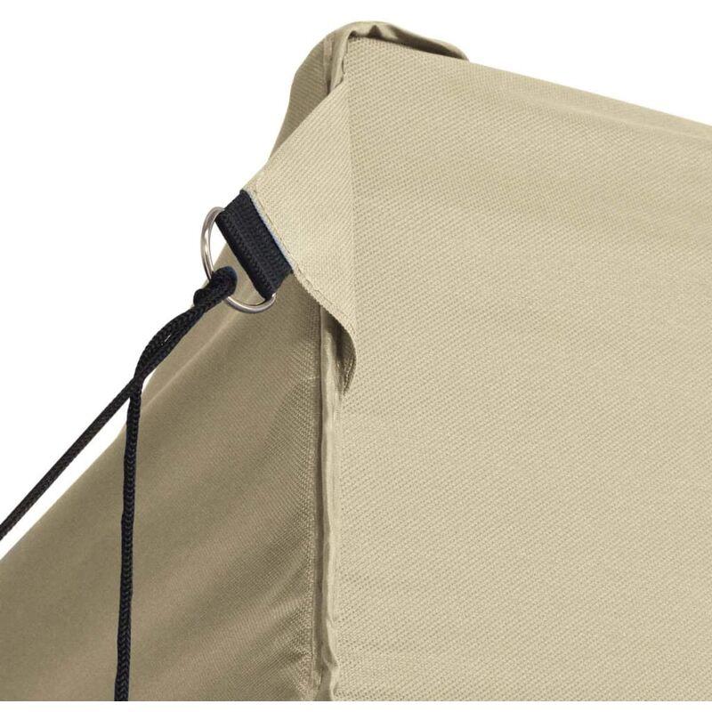 vidaXL Tente Pliable 4 Parois Lat/érales 3x4,5 m Anthracite Tonelle Pavillon
