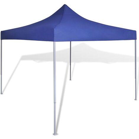 Tente pliable Bleu 3 x 3 m