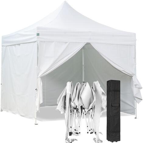 Tente pliante avec 4 murs amovibles 3x3m PREMIUM LIGHT