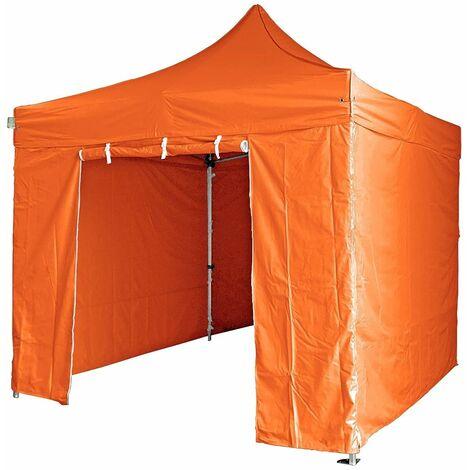 Tente pliante avec 4 murs amovibles 3x3m SUPER 300g/m2