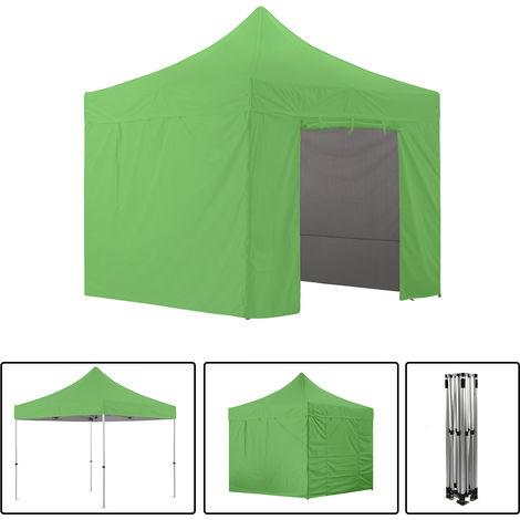 Tente pliante avec 4 murs amovibles 3x3m SUPER