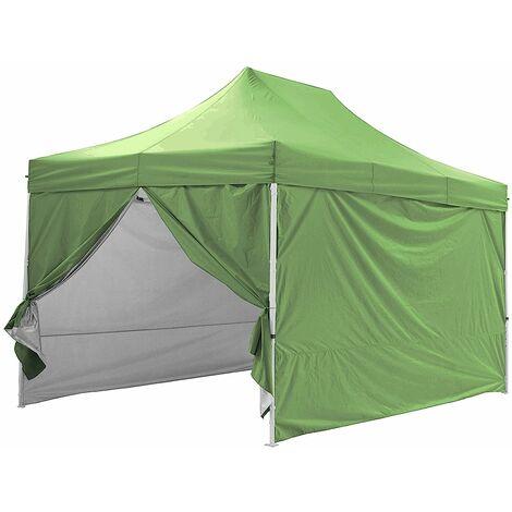 Tente pliante avec 4 murs amovibles 3x4,5m PREMIUM LIGHT