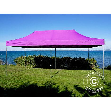 Tente Pliante Chapiteau pliable Tonnelle pliante Barnum pliant FleXtents PRO 3x6m Violet