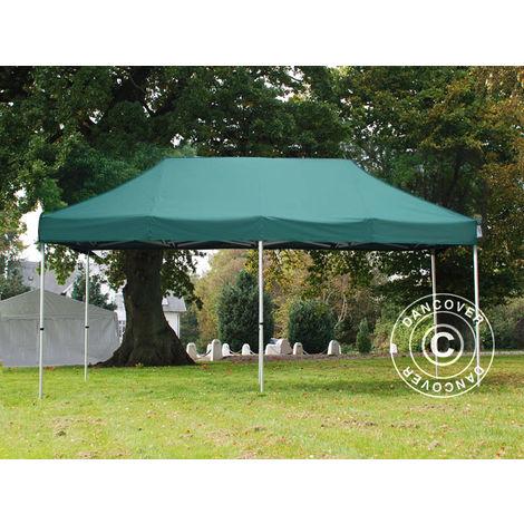 De haute qualité barnum pavillon chapiteau 4x4 M crème toit ETANCHE 250 g//m²