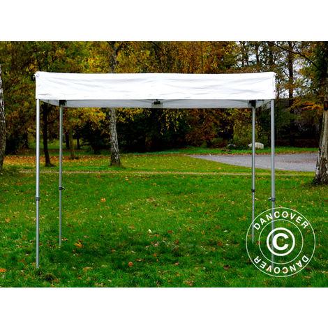 Tente pliante Chapiteau pliable Tonnelle pliante Barnum pliant FleXtents PRO Exhibition 3x3m, blanc, M2