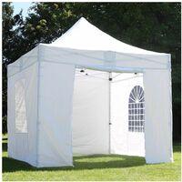 Tente Pliante Pro 3x3 M Et 4 Murs Poids De Lestage