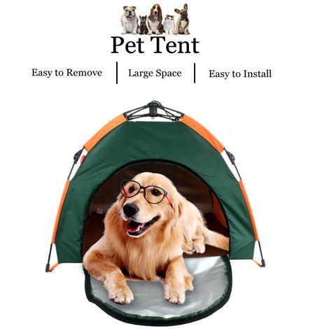 Tente Portable Pliant Pet Maison Chat Chien Etanche Abri Solaire Voyage Randonnée