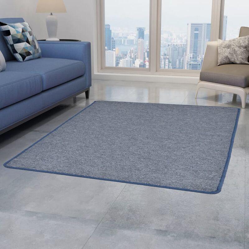 Abcrital - Teppich Getuftet 160 x 230 cm Blau