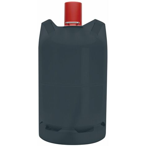 Tepro Abdeckhaube Schutzhülle für 11 kg Gasflaschen Abdeckplane schwarz 30x58 cm