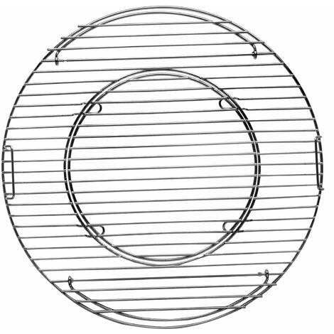 Tepro Grillrost Kugelgrill Grillen Hauptrost Grill Rost-in-Rost System 47 cm Ø
