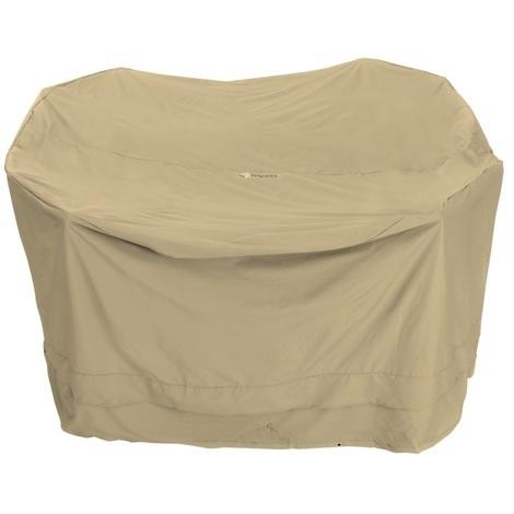 Tepro Premium Universal Cover for Large Round Garden Patio Furniture Set 320cm in Beige