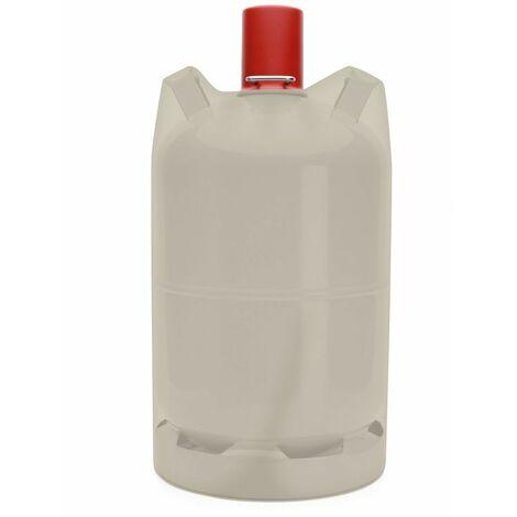Tepro Universal Schutzhülle Abdeckplane für 5 kg Gasflaschen Abdeckhaube 24x45cm