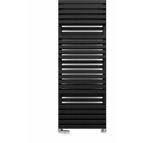 Terma Quadrus Bold 1185X450mm Towel Warmer 2849B Metallic Black