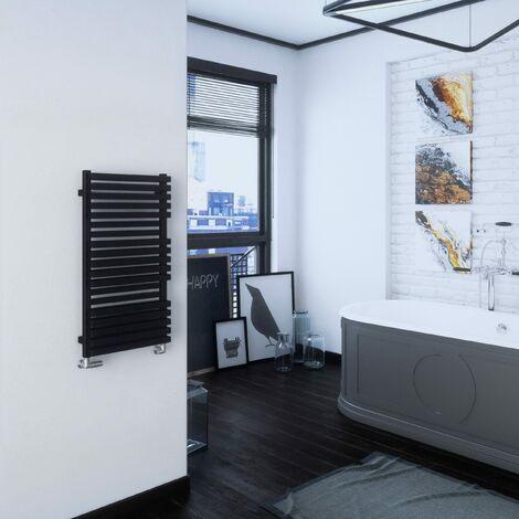 Terma Quadrus Bold 870X450mm Towel Warmer 1812B Metallic Black