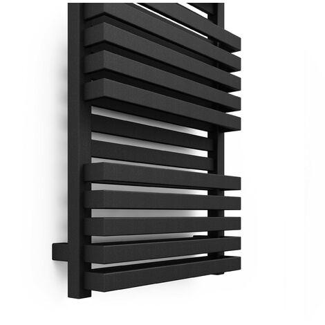 Terma Quadrus Bold 870X600mm Towel Warmer 2416B Metallic Black