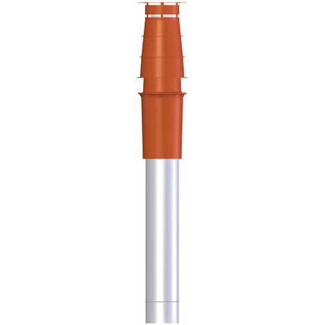 Terminal condensation vertical, PPs/galva O100-150 brun