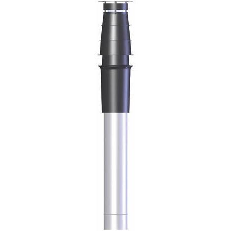 Terminal condensation vertical, PPs/galva O100-150 noir