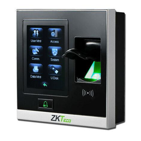 Terminal Control Presencia Por Codigo Tarjeta Huella Por USB Y Ethernet RJ45 SF420