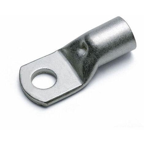 Terminal de cable Ojete Desnudo 4/6 mmq Agujero 6 mm